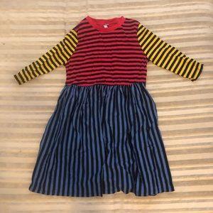 ASOS Petite Multicolored Striped Dress